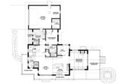 Prairie Style House Plan - 3 Beds 3 Baths 3219 Sq/Ft Plan #1042-18 Floor Plan - Main Floor