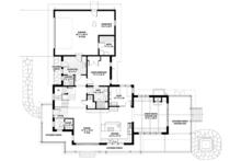 Prairie Floor Plan - Main Floor Plan Plan #1042-18