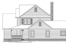 Architectural House Design - Country Exterior - Other Elevation Plan #11-268