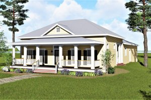 Traditional Exterior - Front Elevation Plan #44-251