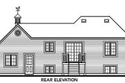 Traditional Style House Plan - 2 Beds 1 Baths 901 Sq/Ft Plan #23-311 Exterior - Rear Elevation
