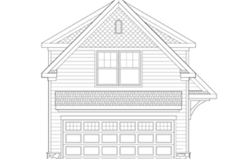 Craftsman Exterior - Front Elevation Plan #1029-66 - Houseplans.com