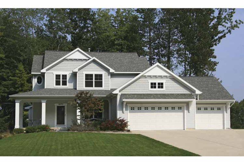 Country Exterior - Front Elevation Plan #928-160 - Houseplans.com