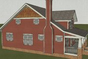 Craftsman Style House Plan - 4 Beds 3 Baths 2116 Sq/Ft Plan #461-3 Exterior - Other Elevation