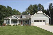 House Design - Craftsman Exterior - Front Elevation Plan #928-135