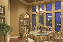 House Plan Design - Mediterranean Interior - Dining Room Plan #952-196