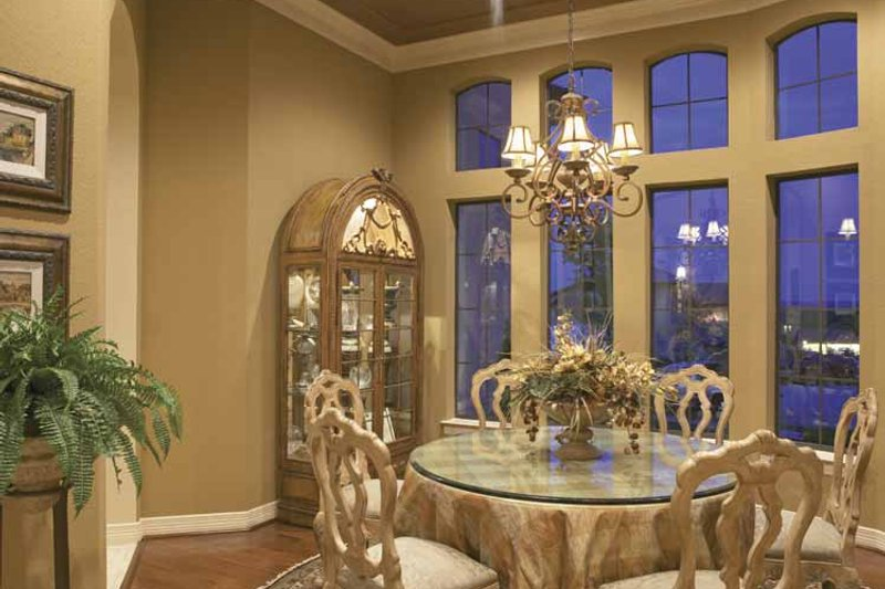 Mediterranean Interior - Dining Room Plan #952-196 - Houseplans.com