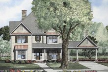 Home Plan - Colonial Exterior - Front Elevation Plan #17-2858
