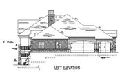 European Style House Plan - 6 Beds 4.5 Baths 2552 Sq/Ft Plan #5-149 Exterior - Other Elevation