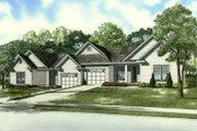 Southern Style House Plan - 4 Beds 4 Baths 2440 Sq/Ft Plan #17-2163
