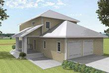 House Plan Design - Traditional Exterior - Other Elevation Plan #44-215
