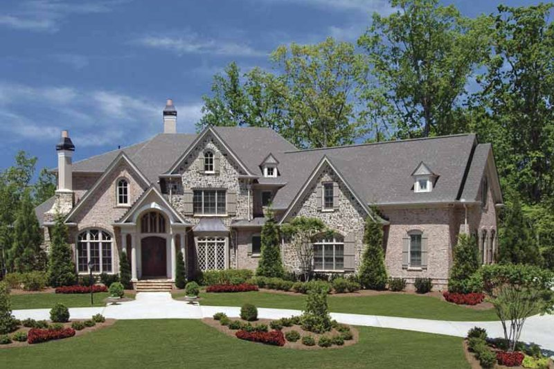 Country Exterior - Front Elevation Plan #54-301 - Houseplans.com