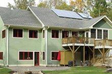 Architectural House Design - Ranch Exterior - Rear Elevation Plan #939-13