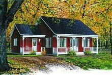 Dream House Plan - Cottage Exterior - Front Elevation Plan #23-101