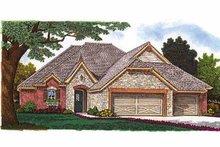 Home Plan - European Exterior - Front Elevation Plan #310-1240