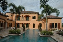 Home Plan - Mediterranean Exterior - Rear Elevation Plan #1058-12