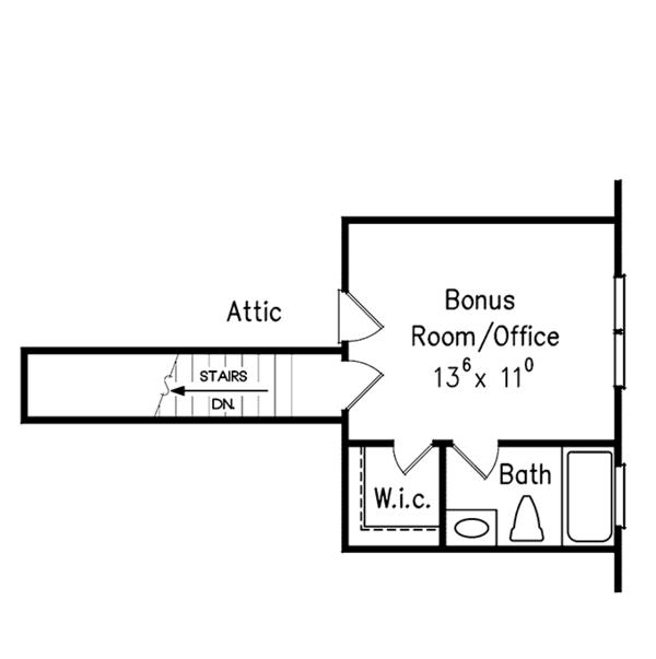 Country Floor Plan - Other Floor Plan Plan #927-281