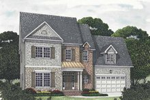 House Design - Traditional Exterior - Front Elevation Plan #453-542