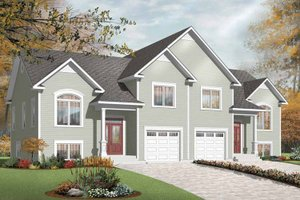 Dream House Plan - Ranch Exterior - Front Elevation Plan #23-2399