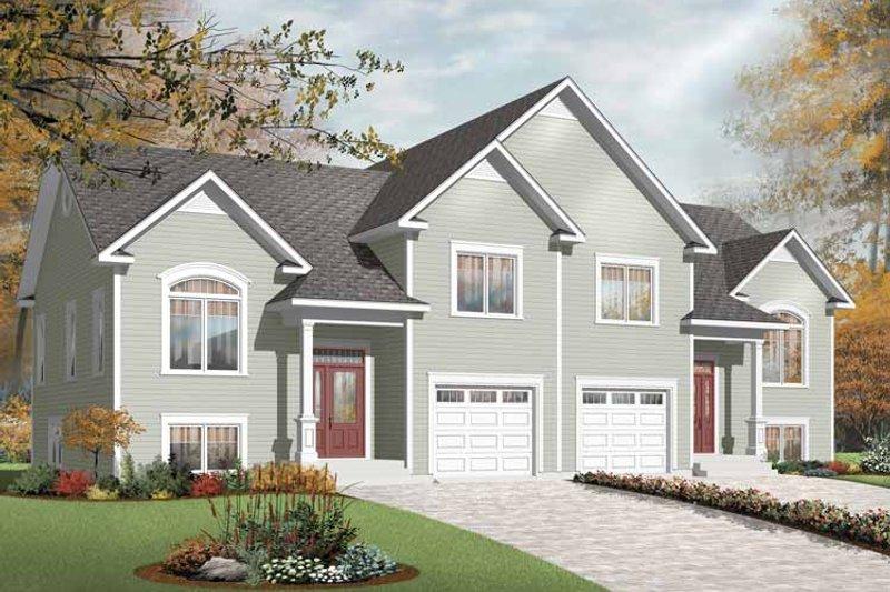 House Plan Design - Ranch Exterior - Front Elevation Plan #23-2399