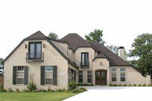 House Design - Contemporary Exterior - Front Elevation Plan #11-273