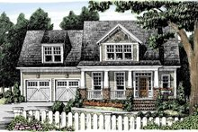 Architectural House Design - Craftsman Exterior - Front Elevation Plan #927-887