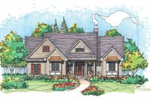 Country Exterior - Front Elevation Plan #929-563