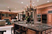 Architectural House Design - Mediterranean Interior - Kitchen Plan #453-383