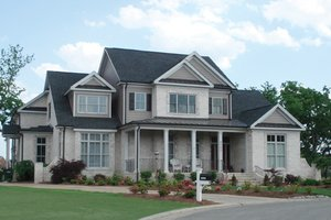 Country Exterior - Front Elevation Plan #927-260