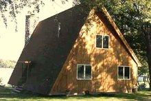 Home Plan - Exterior - Rear Elevation Plan #314-237