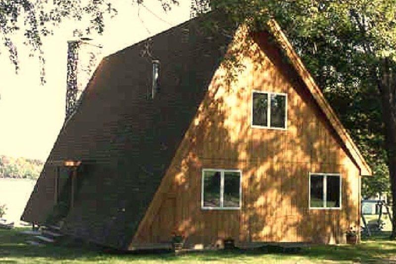 Exterior - Rear Elevation Plan #314-237 - Houseplans.com