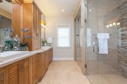 Farmhouse Style House Plan - 4 Beds 3.5 Baths 3186 Sq/Ft Plan #1058-73 Interior - Master Bathroom