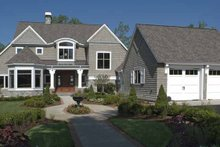 Architectural House Design - Craftsman Exterior - Front Elevation Plan #928-171