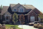 Traditional Style House Plan - 6 Beds 5.5 Baths 3608 Sq/Ft Plan #5-211 Exterior - Front Elevation