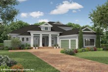 Dream House Plan - Country Exterior - Front Elevation Plan #930-474