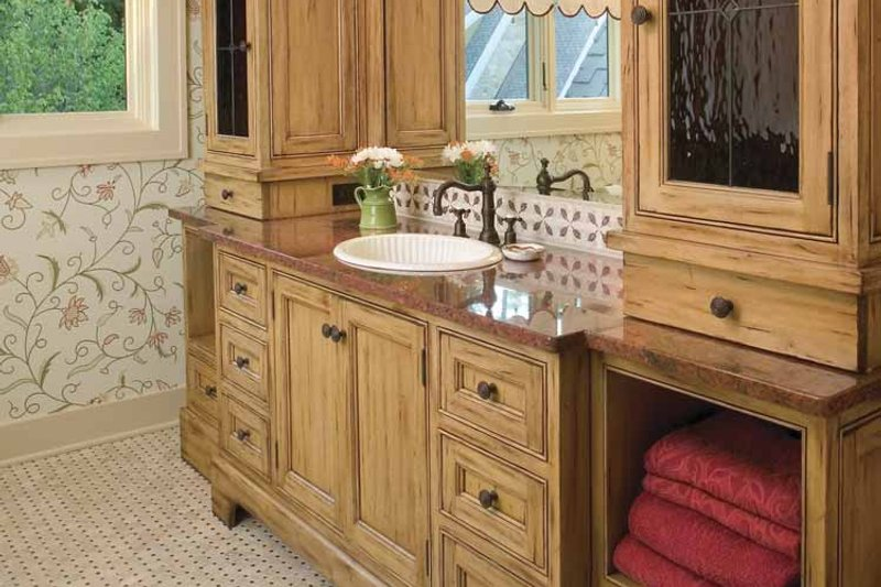 Country Interior - Bathroom Plan #928-183 - Houseplans.com