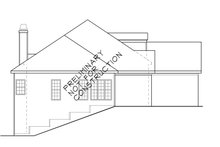 House Design - Mediterranean Exterior - Other Elevation Plan #927-148