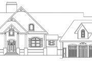 Craftsman Style House Plan - 3 Beds 2.5 Baths 2878 Sq/Ft Plan #119-424 Exterior - Front Elevation
