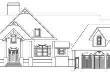 Dream House Plan - Craftsman Exterior - Front Elevation Plan #119-424