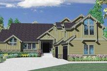 Craftsman Exterior - Front Elevation Plan #509-392
