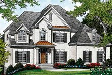 Home Plan - Traditional Exterior - Front Elevation Plan #453-117