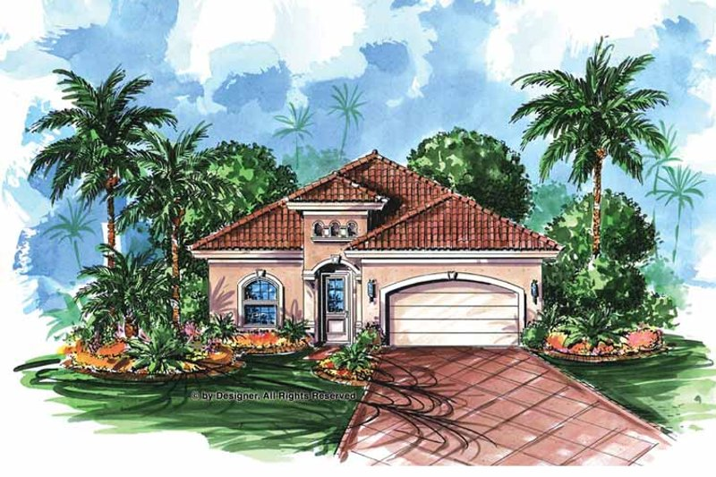 Home Plan - Country Exterior - Front Elevation Plan #1017-18