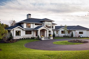 Contemporary-Modern House Plans at eplans.com on daylight ranch house plans, lakefront house plans, large lodge style house plans, bi-level house plans, daylight basement house plans, best rambler home plans,