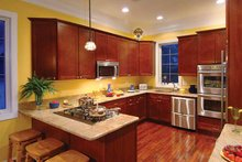 Traditional Interior - Kitchen Plan #930-121
