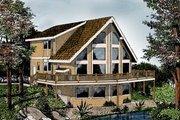 Modern Style House Plan - 2 Beds 2 Baths 1770 Sq/Ft Plan #96-217