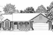 Traditional Style House Plan - 2 Beds 2 Baths 1179 Sq/Ft Plan #58-110