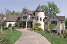 Dream House Plan - European Exterior - Front Elevation Plan #453-23