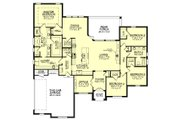 European Style House Plan - 4 Beds 2.5 Baths 2506 Sq/Ft Plan #430-143