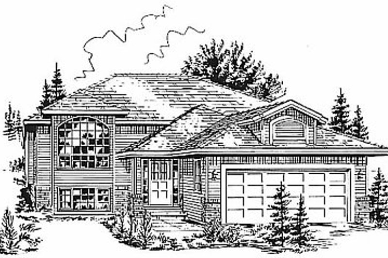 Traditional Exterior - Front Elevation Plan #18-306