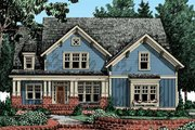 Farmhouse Style House Plan - 4 Beds 3.5 Baths 2795 Sq/Ft Plan #927-41 Exterior - Front Elevation
